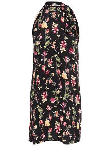 Vienspalvis trumpa suknelė