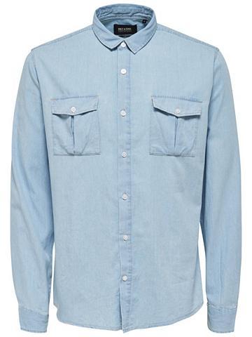 ONLY & SONS džinsiniai marškinėliai