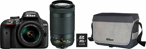 NIKON D3400 fotoaparatas Kamera Kit NIKKOR 1...