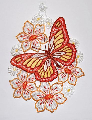 Lango dekoracija siuvinėjimas Plauen »...