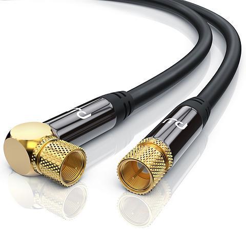 Primewire HDTV Satellitenkabel 90° gewinkelt »F-...