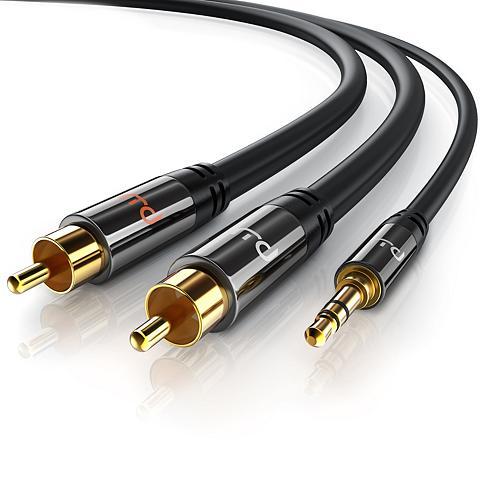 Primewire Stereo HiFi Audio-Adapter mehrfach ges...