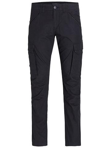 Lininis kišeninės kelnės