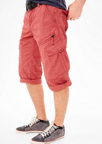 File Loose: Kišenėtos kelnės Šortai-be...