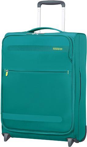 AMERICAN TOURISTER Medžiaginis lagaminas ant ratukų su 2 ...