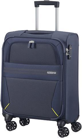 AMERICAN TOURISTER Medžiaginis lagaminas ant ratukų su 4 ...