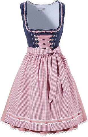 MARJO Tautinio stiliaus trumpa su rožiniais ...