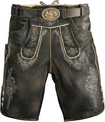 Trumpas Odinės tautinio stiliaus kelnė...