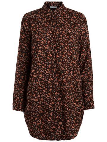 Ilgis su marginta gėlėmis Marškiniai