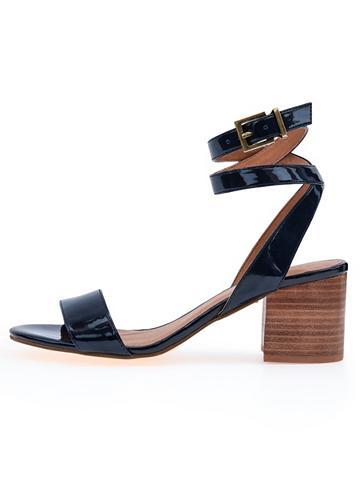 Schlichte Riemen- sandalai