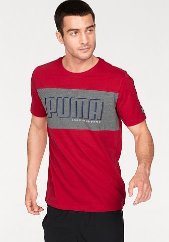 PUMA Marškinėliai »STYLE ATHLETICS GRAPHIC ...