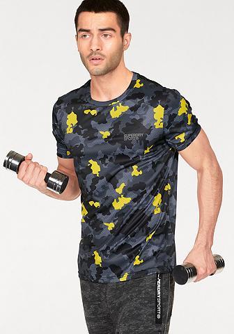 SUPERDRY Marškinėliai »SPORT TECH AOP TEE«