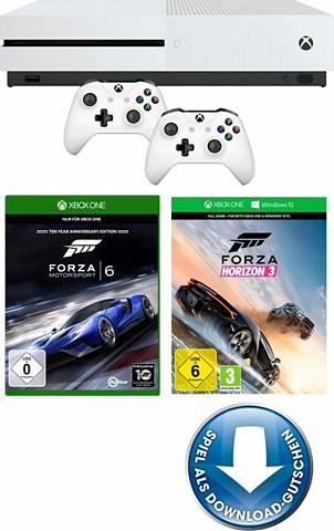 S 500 GB + Forza Horizon 3 (DLC) + For...