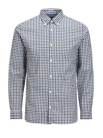 Jack & Jones Langarm-Button-down-Hemd