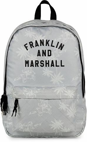 FRANKLIN & MARSHALL Franklin & Marshall kuprinė su 2 Haupt...