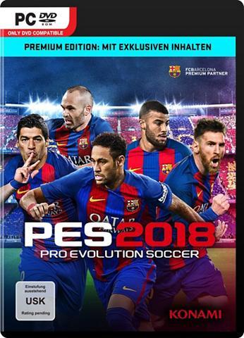 PC - Spiel »PES 2018 - Premium Edition...