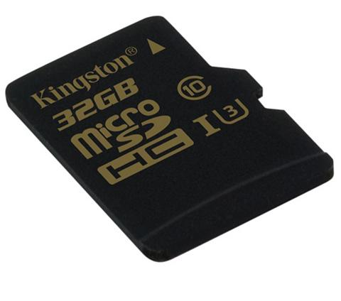KINGSTON Atminties kortelė »Micro SD Card Gold ...