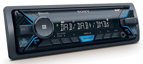 1-DIN DAB+ imtuvas su Bluetooth USB ra...