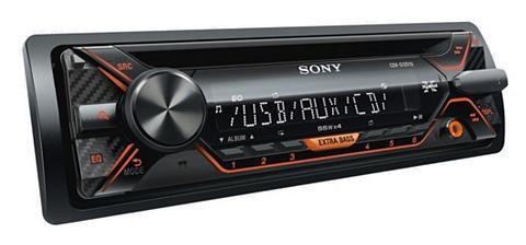 1-DIN cd-grotuvas su USB raktas »CDX-G...