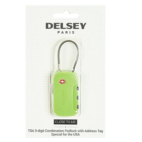 Delsey Accessoires Vorhängeschloss TSA III
