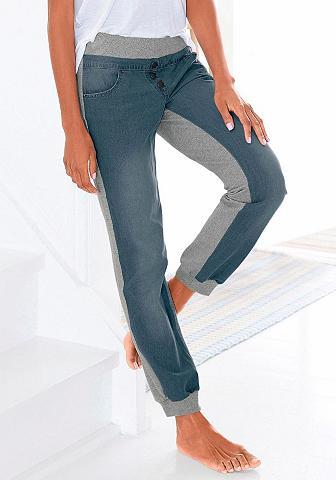 Džinsai kelnės su Jeans-Frontseite