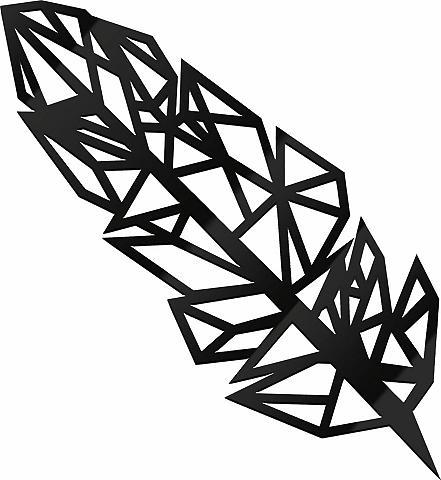 Akrilinė dekoracija »Origami Feder« 15...