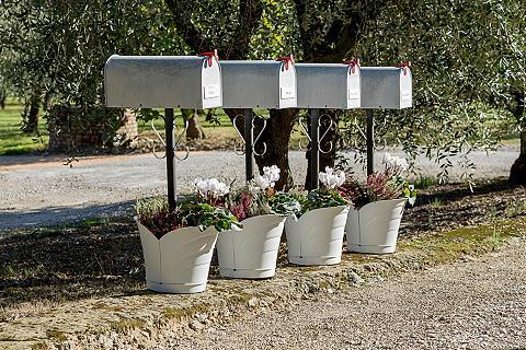 Vazonas gėlėms »Tulipano« Øx H: 33x32 ...