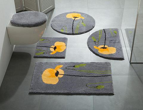 GRUND Vonios kilimėlis su Mohn-Motiv