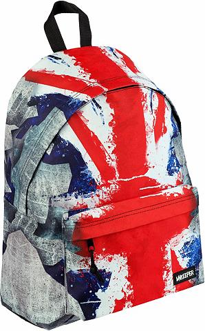 UNKEEPER Kuprinė »Union Jack Adventure Daypack«...
