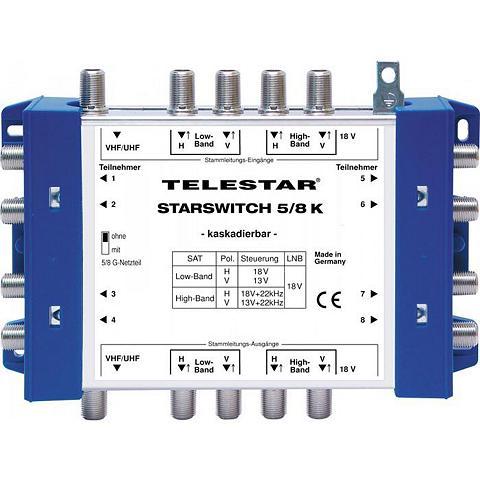 TELESTAR SAT-Verteiler »STARSWITCH 5/8 K ir F-S...