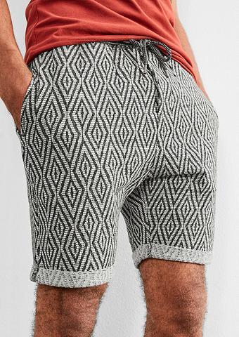 Žakardas Jogger-Shorts
