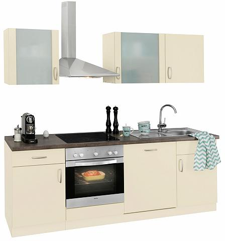 Virtuvės baldų komplektas »Brüssel« su...