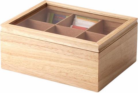 Dėžutė arbatai Hartholz Handarbeit 23 ...