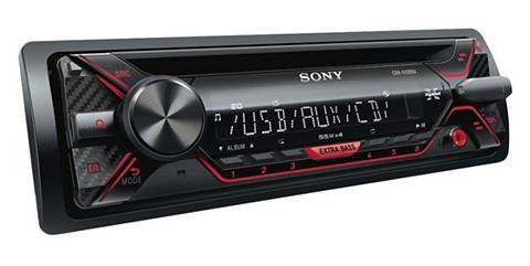SONY 1-DIN CD-Grotuvas su USB laikmena & EX...