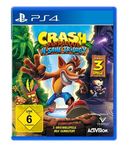 Playstation 4 - Spiel »Crash Bandicoot...