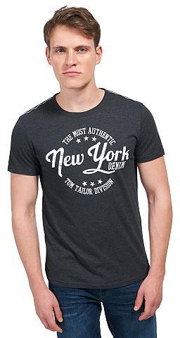 Marškinėliai Marškinėliai su Schrift-P...