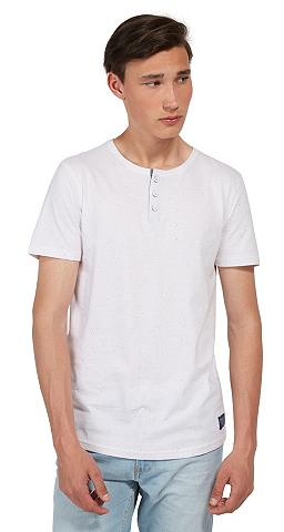 Marškinėliai »T-Shirt su Knopfleiste«