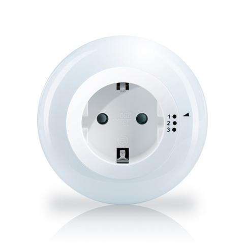 LED naktinė lempa su Steckdose »3 Hell...