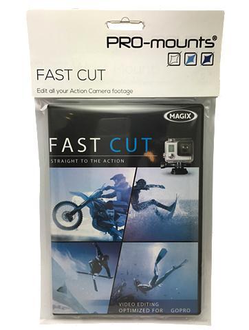 PRO-MOUNTS Software »Fast Cut dėl GoPro«
