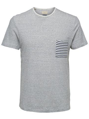 Marškinėliai apvalia iškirpte Marškinė...