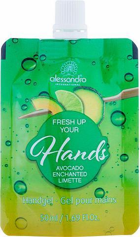 »FRESH UP your hands! Avocado enchante...