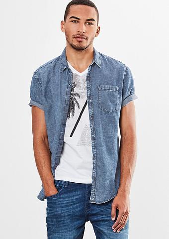 Extra Įliemenuotas: Marškiniai su trin...