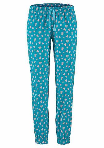 Pižaminės kelnės su pasikartojantis ra...