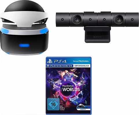 PLAYSTATION 4 Play Stovas/stotelė VR akiniai + VR Wo...