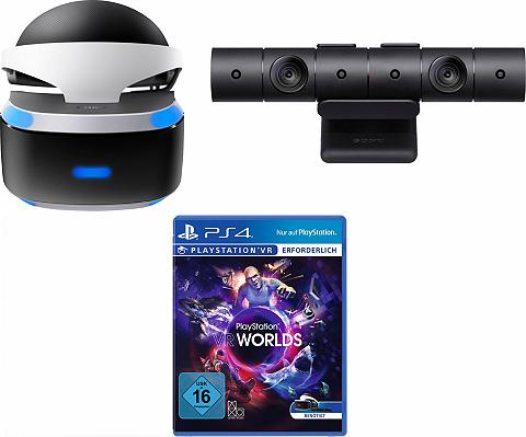 PlayStation 4 VR + Kamera + VR Worlds