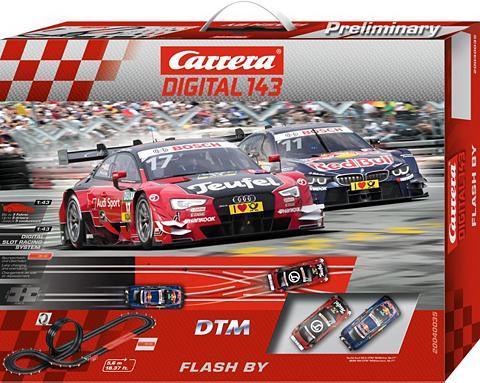CARRERA Autorennbahn »® Digital 143 DTM Flash ...