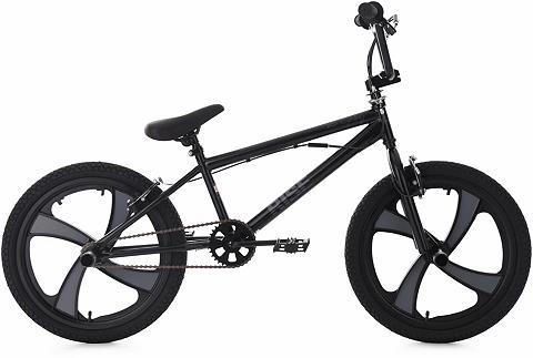 BMX dviratis 20 Zoll schwarz-grau »Ris...