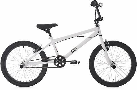 BMX dviratis 20 Zoll weiß »Fatt«