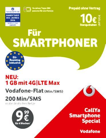 Call Ya-Prepaid-Karte »Smartphone Spez...