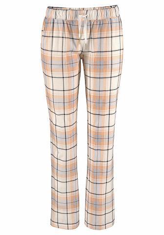 LASCANA Raštuotas pižaminės kelnės su tiesus k...